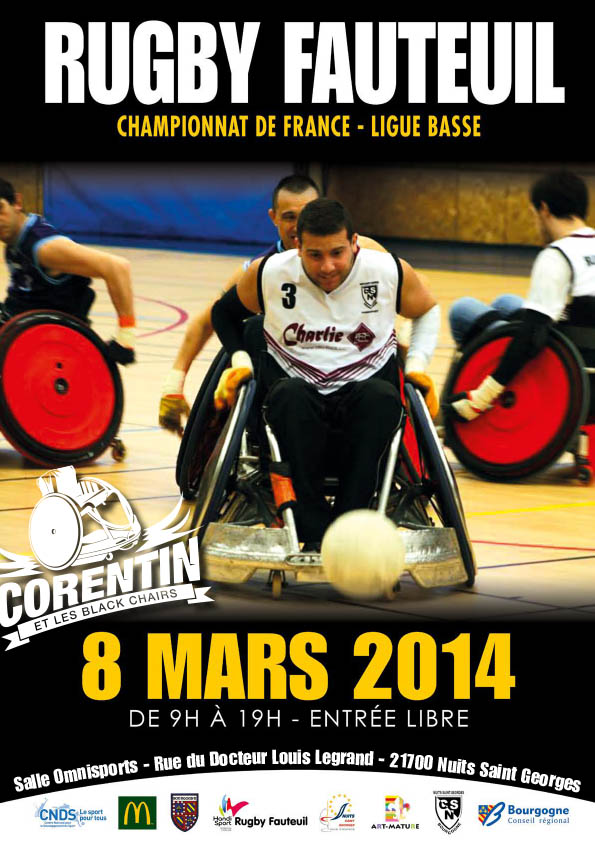 affiche-corentin-blackchairs-rugby-fauteuil-2014