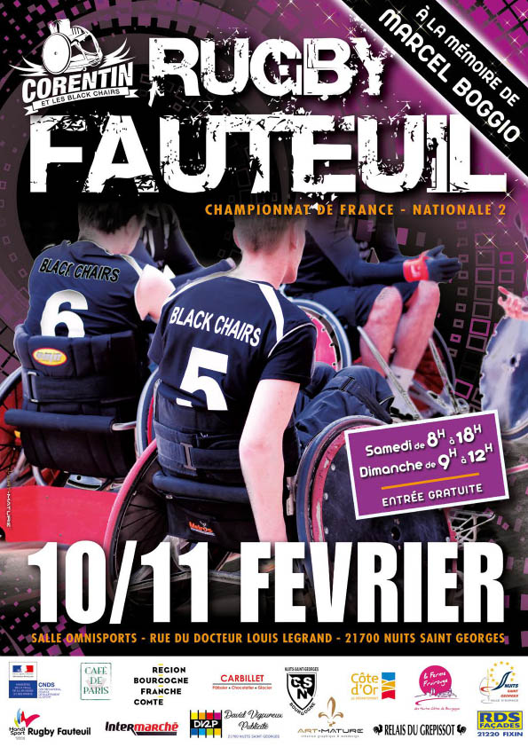 affiche-corentin-blackchairs-rugby-fauteuil-2018